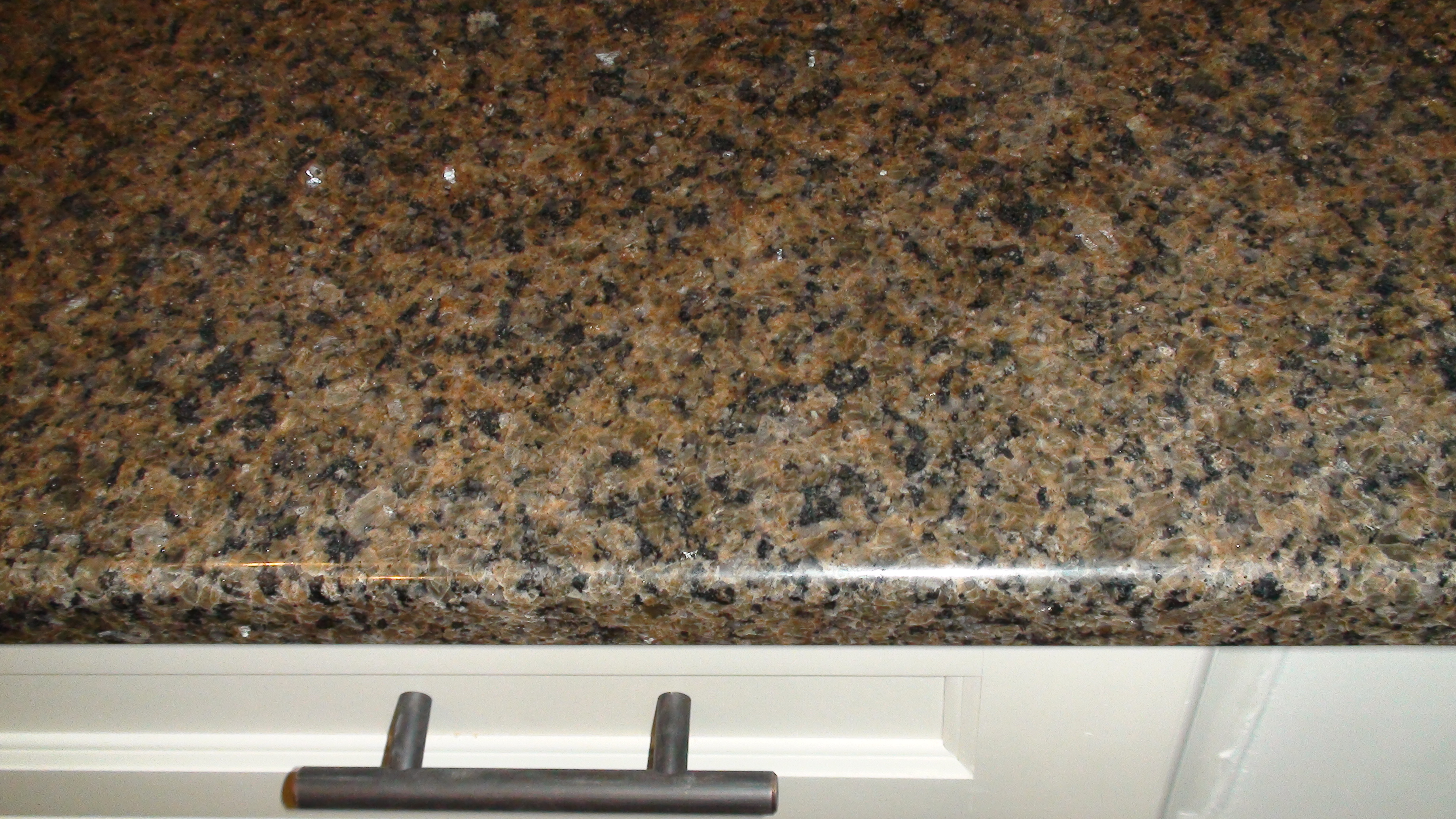 Brown And White Granite : The kitchen remodel one home made