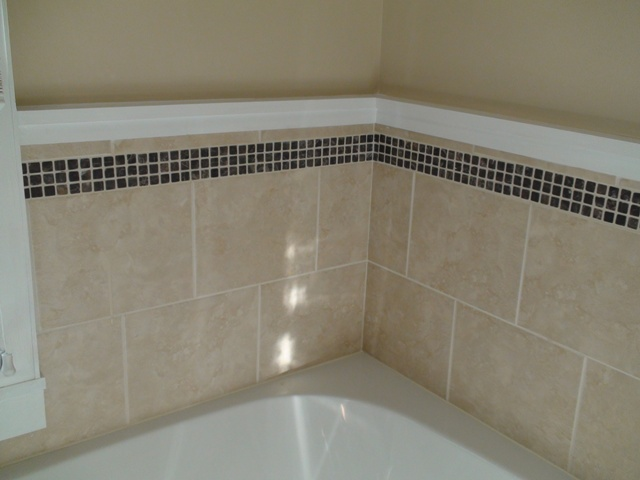 Bathtub Surround Grouted And Caulked Another ...