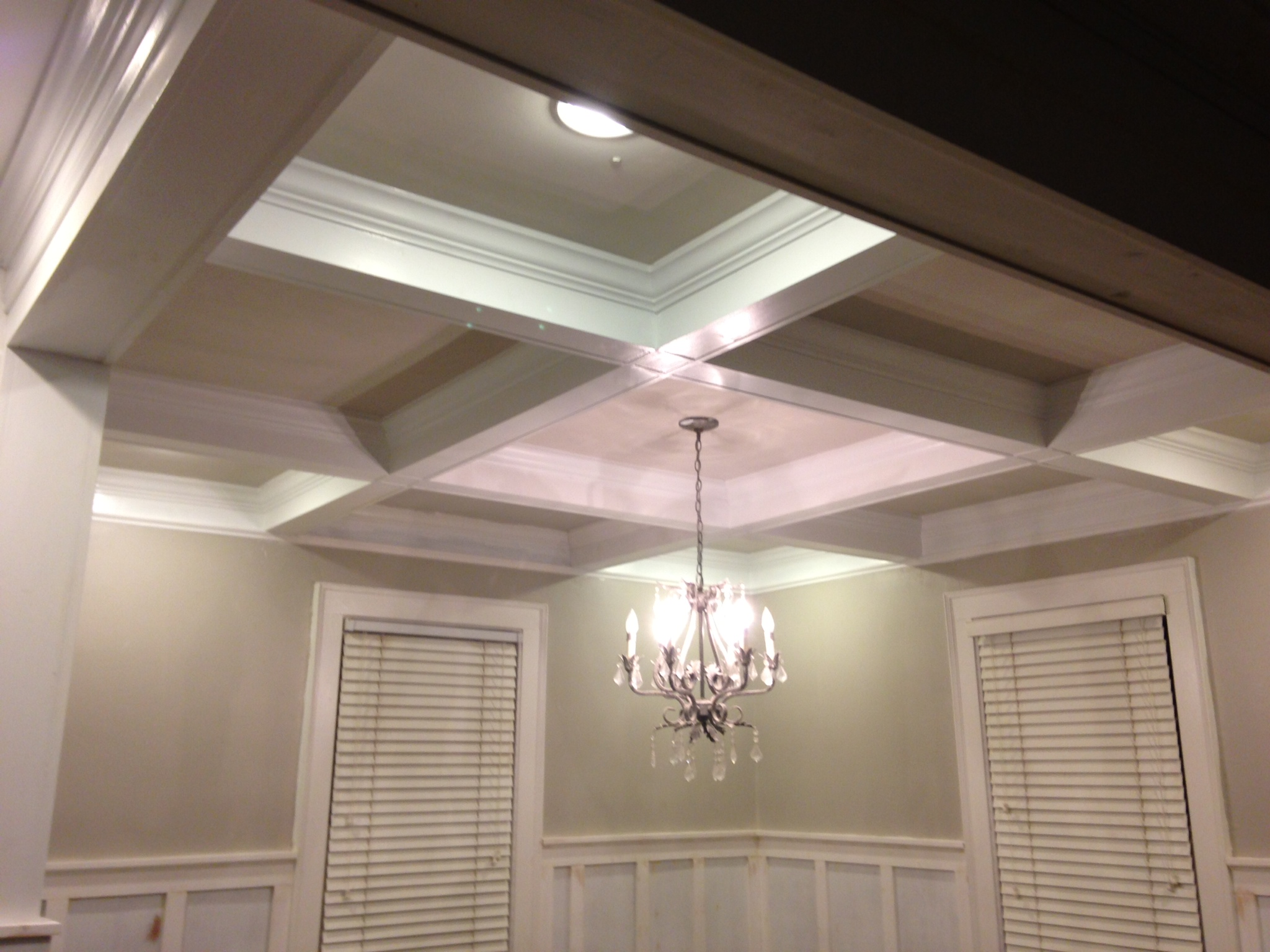 coffered ceiling lighting. Wonderful Ceiling Coffered Ceiling Wainscoting One Home Made Lighting Ideas With I