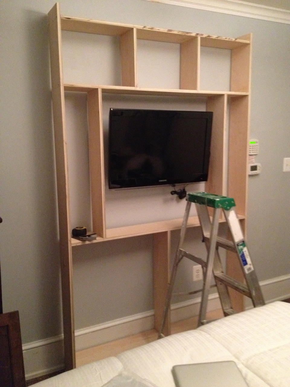 Start of the built-in.